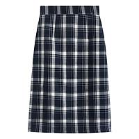 NEW Chân Váy Chữ A Lưng Cao Họa Tiết Caro Retro Thời Trang Xuân Thu 2020