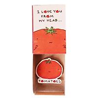 Thiệp Tình Yêu Hộp Diêm I Love You From My Head Tomatoes LV092