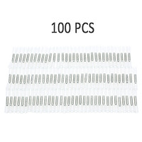 100 PCS 26-24 AWG Insulated Heat Shrink Butt Connectors Waterproof Wire Electrical Crimp Terminals Connect Tube