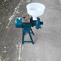 Máy nghiền vỡ ngô, máy xay nghiền bột khô - Công suất mô tơ 1.5 kw