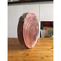 Thớt gỗ nghiến 32cm dày 4-5cm
