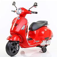 Xe máy điện trẻ em BBT GLobal Vespa đỏ BBT Global BBT-6116D