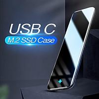 Hộp đựng ổ cứng SSD Xiaomi Baseus M2 M.2 SATA sang USB NGFF Bộ điều hợp hộp ổ cứng ngoài ổ cứng loại C