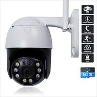 Camera Wifi Ip Quan Sát Ngoài Trời Chống Nước, Ban Đêm Có Màu, Độ Phân Giải 3.0MPX, Xoay 360 Độ CC8031 - Nhập Khẩu