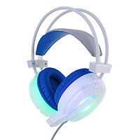 Beauty H6 Cracked Pattern Video Game Headset W/ MIC for PC LED