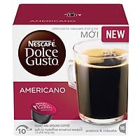 Hộp 16 Viên Nén Cà Phê Rang Xay Nescafe Dolce Gusto – Americano (128g)