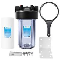 Bộ lọc nước đơn đầu nguồn chung cư SMY 10 inch Bigblue cao cấp (trong tím)
