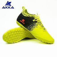 Giày đá bóng nam giày đá banh AKKA SPEED 2 xanh nõn