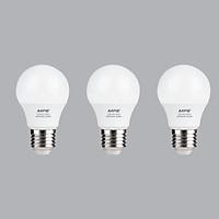 Bộ 3 Bóng Đèn LED Bulb MPE 3W 6000-6500K E27 Ø45 - Ánh sáng trắng