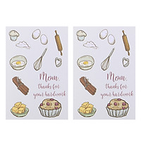 Combo 2 Thiệp Papermix - Mom, Thanks For Your Hardwork