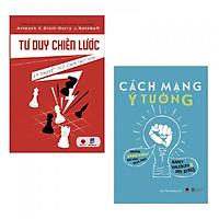 Combo 2 cuốn sách kinh tế tâm đắc: Tư Duy Chiến Lược + Cách Mạng Ý Tưởng - Những Sáng Kiến Chỉ Chờ Thực Hiện ( Tặng kèm bookmark PD)