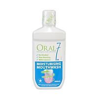 Nước súc miệng giữ ẩm Oral7 Moisturising Mouthwash 500ml - Nhập khẩu từ Anh Quốc