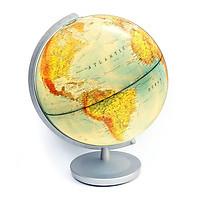 Quả địa cầu Columbus 30cm, 2 bản đồ, có đèn chiếu sáng (553011E)