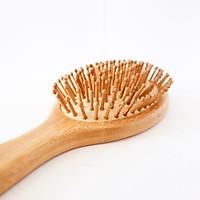 Lược gỗ chăm sóc tóc - Massage da đầu - Kích thích mọc tóc