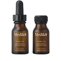 Tinh chất dưỡng sáng da mờ thâm chống lão hoá Medik8 Pure C15 (2x15ml)