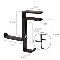 Headphone Stand Hanger Table Headset Bracket Space Save Mount