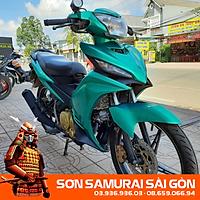 Sơn SAMURAI KUROBUSHI Y017 XANH LÁ CANDY chính hãng - SƠN PHUN XE MÁY KUROBUSHI/ SAMURAI SÀI GÒN