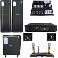 Bộ dàn sân khấu trong nhà ngoài trời KTF - 9800 BellPlus (Hàng Chính hãng)