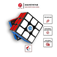 Rubik 3x3 GAN 356 XS Stickerless/Viền đen Có Nam Châm