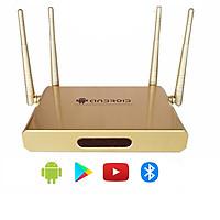 Androdi tivi box 4 anten có bluetooth android 7.1 cài sẵn các ứng dụng giải trí