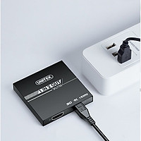 Bộ Chia HDMI 1 Ra 2 Cổng UNITEK V116A Hỗ Trợ 4K Cao Cấp AZONE - Hàng Chính Hãng