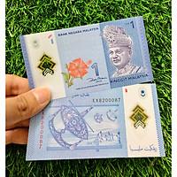 tờ 1 Ringgit Malaysia chất liệu polyme ngày xưa