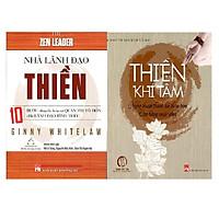 Combo 2 cuốn: Nhà Lãnh Đạo Thiền + Thiền Khí Tâm - Nghệ Thuật Thanh Lọc Thân Tâm, Cân Bẳng Cuộc Sống