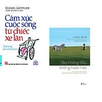 Combo 2 cuốn sách:  Cảm Xúc Cuộc Sống Từ Chiếc Xe Lăn + Yêu những điều không hoàn hảo