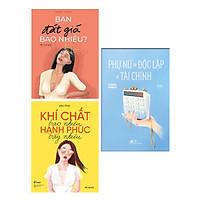 Combo 3 cuốn sách hay dành cho phụ nữ thời hiện đại: Bạn đắt giá bao nhiêu + Khí chất bao nhiêu, hạnh phúc bấy nhiêu + Phụ nữ cần độc lập về tài chính