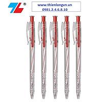Combo 5 cây bút bi Thiên Long - TL027 màu đỏ