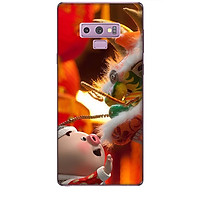 Ốp lưng dành cho điện thoại  SAMSUNG GALAXY NOTE 9 Heo Múa Lân