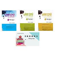 Combo Làm Chủ Ngữ Pháp Tiếng Hàn - Dành Cho Người Bắt Đầu - Trung Cấp - Cao Cấp - Tặng EBooks Tiếng Hàn