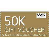 E-Voucher giảm 20.000đ cho toàn bộ sản phẩm tại WanStore
