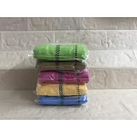 combo 10 khăn rửa mặt chất cotong dày đẹp, nhiều màu