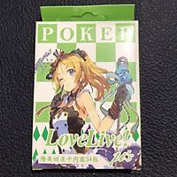 Bộ bài Love live 52 quân (2 mẫu) anime