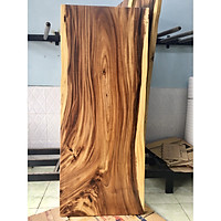 Mặt bàn gỗ me tây nguyên tấm KT 5x82x200cm