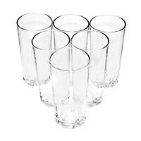 Bộ ly 6 cái Union Glass 314 Ly khía  không ngã màu,  sản xuất Thái Lan