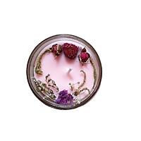 Nến thơm tinh dầu Hoa Anh Đào 100g, làm thơm phòng, khử mùi, thư giãn giảm stress –  Essential Oil Candle