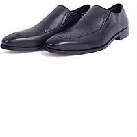 Giày Lười Nam Da Bò G116 - Đen