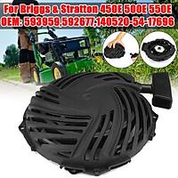 Recoils Starter Pull Start Tool Black 593959 For Briggs & Strattons 450E 500E 550E