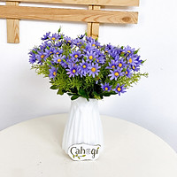 Hoa Giả Combo 5 Cành Cúc Họa Mi Vải 30cm