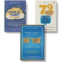 Sách-Combo 3 cuốn Ngôn từ thay đổi tư duy+79 quy tắc hay trong giao tiếp+nghệ thuật xử thế toàn thư