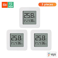 Nhiệt kế cảm biến đo độ ẩm thông minh kỹ thuật số không dây điều khiển trên app 3pcs Xiaomi BT Thermometer 2 Wireless Smart