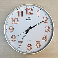 Đồng hồ Eastar Tròn Lớn – Số nổi 3D có Dạ quang (*) – Máy kim trôi