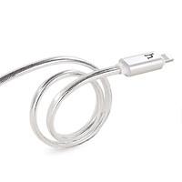 Cáp sạc iphone tự ngắt Hoco UPL12 có đèn led báo hiệu sạc đầy hàng chính hãng