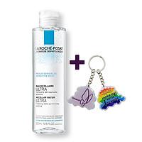 Nước Tẩy Trang Làm Sạch Sâu Cho Da Nhạy Cảm La Roche-Posay Micellar Water Ultra Sensitive Skin 200ml + Tặng Móc Khóa