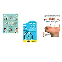 Combo 3 cuốn sách: Vừa Đủ - Đẳng Cấp Sống Của Người Thụy Điển + 30 ngày thay đổi thói quen + Phớt lờ tất cả và bơ đi mà sống