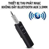 Thiết Bị Thu Phát Nhạc Không Dây Bluetooth AUX 3.5; Chuyển Đổi Loa Thường Thành Loa Không Dây- Hàng Nhập Khẩu