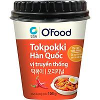 [Chỉ Giao HCM] - Big C - Tokpokki hộp O'Food vị truyền thống 105g - 00134
