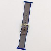Dây đeo cho Apple Watch hiệu XINCUCO Canvas (size 38 mm) - hàng nhập khẩu